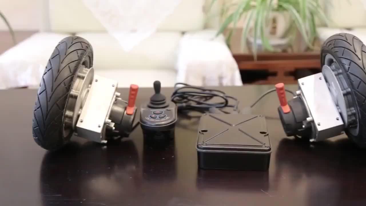 سيارة كهربائية تحويل عدة 24v موتور تيار مباشر فرش جهاز تحكم في محرك التيار المستمر 250w