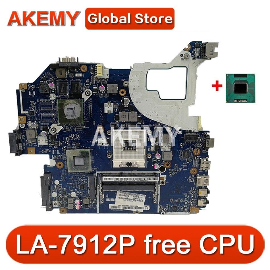 LA-7912P اللوحة لشركة أيسر E1-571 V3-571 V3-531G E1-571G V3-571G دفتر اللوحة GPU GT710M HM77
