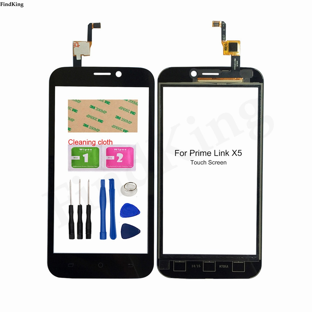 Mobile Phone Touch Screen For Prime LINK X5 Touch Screen Digtizer Touch Panel Front Glass Sensor Rep