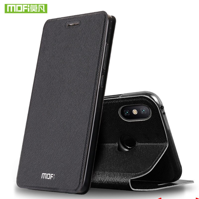 Funda de silicona MOFi original para Xiaomi Mi Mix 2, funda con tapa de cuero para Xiaomi Mi Mix2, funda protectora, fundas para Mi Mix 2s