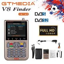 GTMEDIA/Freesat V8 Finder HD DVB-S2/S2X Digital Satellite Finder 3.5 Pollici Ad Alta Definitio Sat Satellite Finder Satfinder HD 1080P
