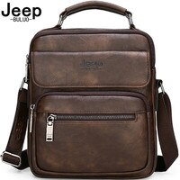 Jeep buluo Мужские кожаные переносные сумки jeep buluo, оранжевая сумка для iPad 9.7