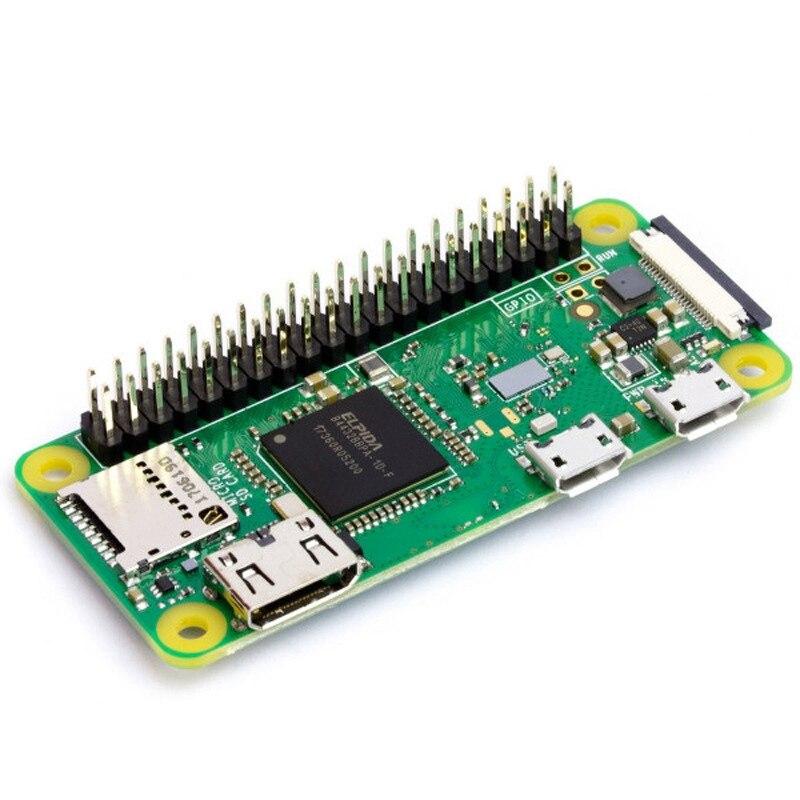 ل Raspberry Pi صفر WH لحام لحام 40Pin GPIO رأس 512 متر RAM المدمج في واي فاي وبلوتوث Pi صفر Pi 0