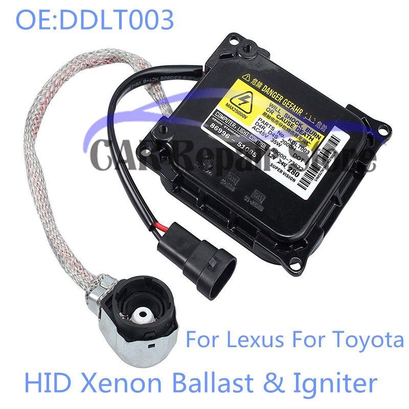 Nuevo balasto e encendedor de Xenón HID DDLT003 para Toyota Lexus D4S D4R Denso Koito OEM 85967-52020 8596752020