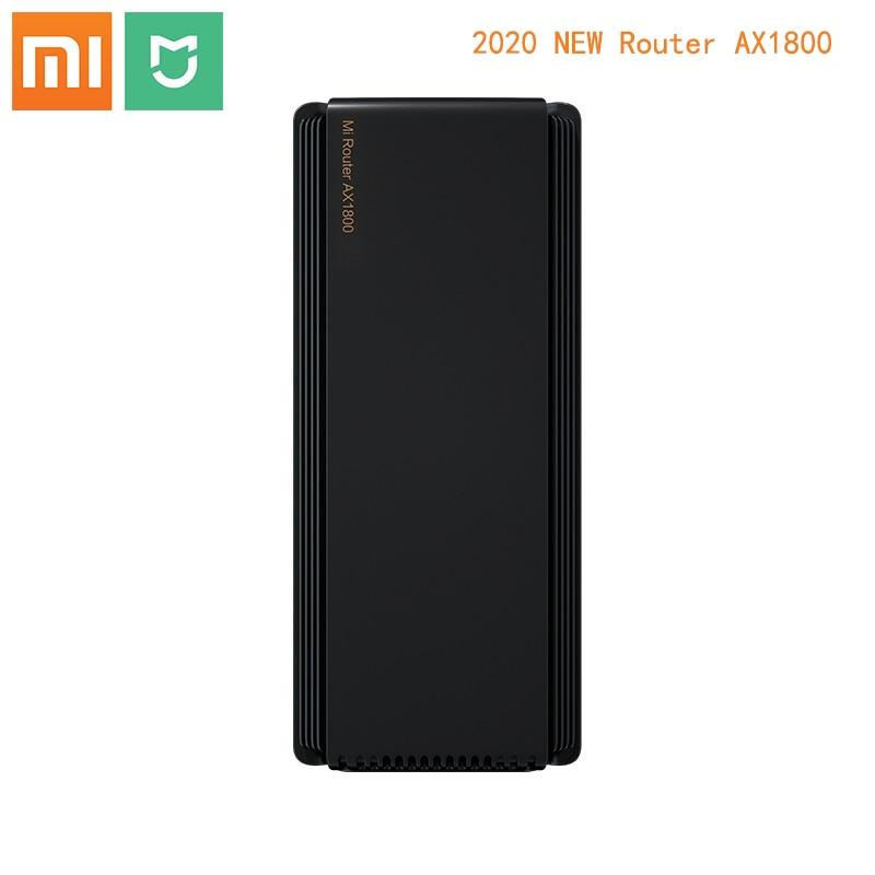 Newest Xiaomi Router AX1800 Wifi 6 Gigabit 2.4G 5GHz 5-Core Dual-Band Router OFDMA High Gain 2 Antennas Wider Mi Router AX18005G