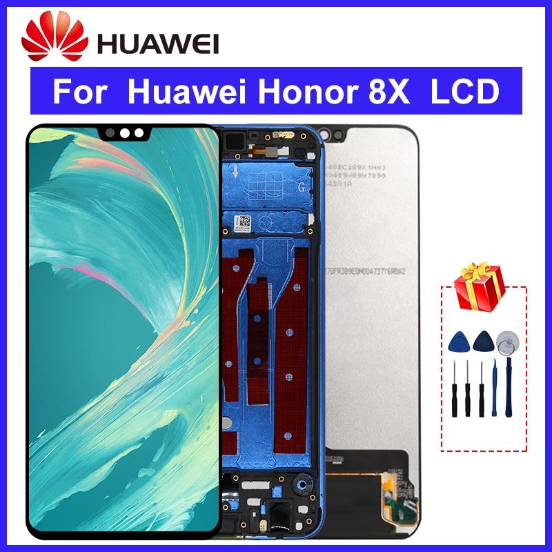65 para huawei honor 8x display lcd de toque digitador da tela pecas reposicao para