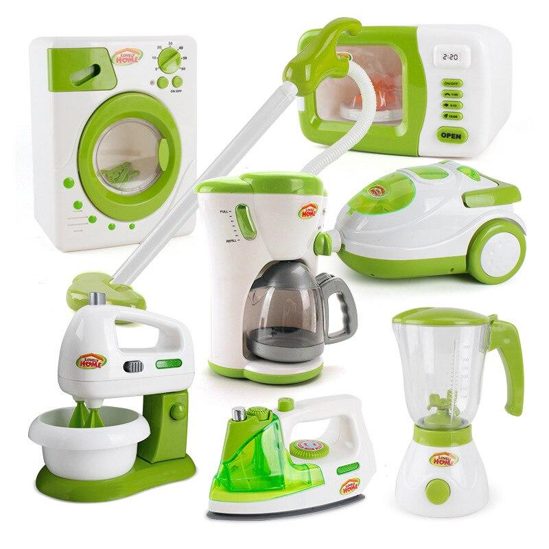 Имитация бытовой техники, игрушки, ролевые игры, кухонная кофемашина, блендер, наборы чайников, детская игра для дома, игрушки, подарки