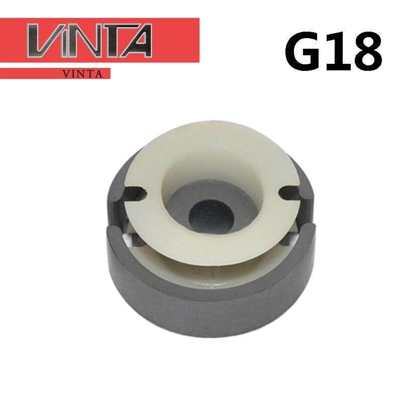 5 uds. De alta frecuencia tipo GU18 núcleo de ferrita blanda núcleo magnético transformador PC40 bobina marco mn-zn Material Pot