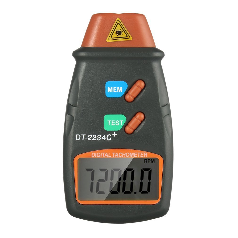 Unversal Digital Laser Tachometer Non Contact RPM Tach Digital Laser Tachometer Speedometer Speed Gauge Engine Practical Tool durable dt2234c digital laser counter meter non contact tachometer rev rpm counter for testing engine rotation speed gauge tools