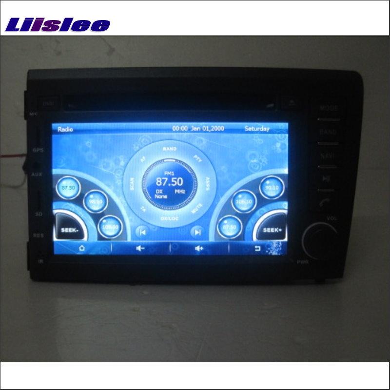 Liislee para Volvo S60 V70 XC70 2000 ~ 2009, reproductor de Radio CD y DVD para coche, navegación por mapa GPS Navi, sistema Multimedia estéreo de Audio y vídeo