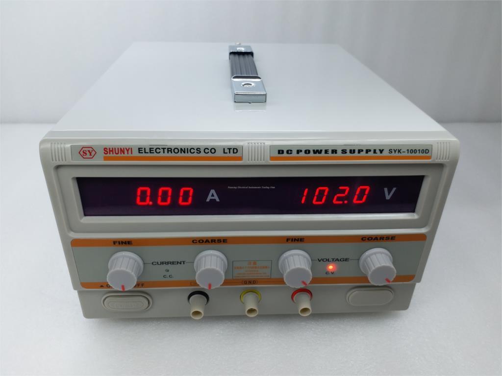 SYK3040D 0-30 V, 0-40A/SYK3050D 0-30 V, 0-50A/SYK3060D 0-30 V, 0-60A fuente de alimentación CC de alta precisión Experimenta regulador de voltaje