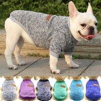 Теплая одежда для маленьких собак, классический зимний женский свитер, пальто для чихуахуа, бульдогов, наряд для домашних животных, одежда д...