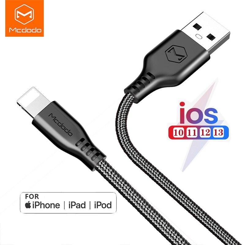 MCDODO para Lightning/tipo-C/Micro usb Cable de carga de 2.4A QC 3,0 cargador...