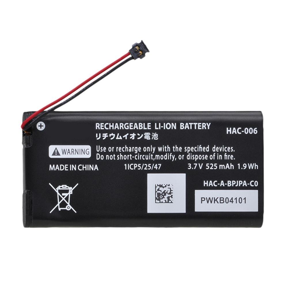 AliExpress - 1x 525mAh HAC-006 HAC-015 HAC-016 Battery for Nintendo Switch Controller HAC-A-JCR-C0 HAC-A-JCL-C0 Batteries