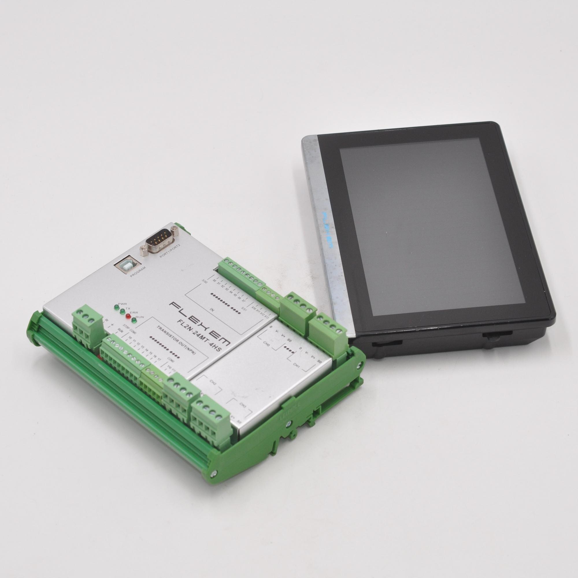 FLEHEM module FL2N-24MT-4HS display F007 set for sale function is normal enlarge