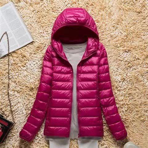Женский всесезонный ультралегкий пуховик, водонепроницаемое и ветрозащитное дышащее пальто, женские толстовки больших размеров, куртки