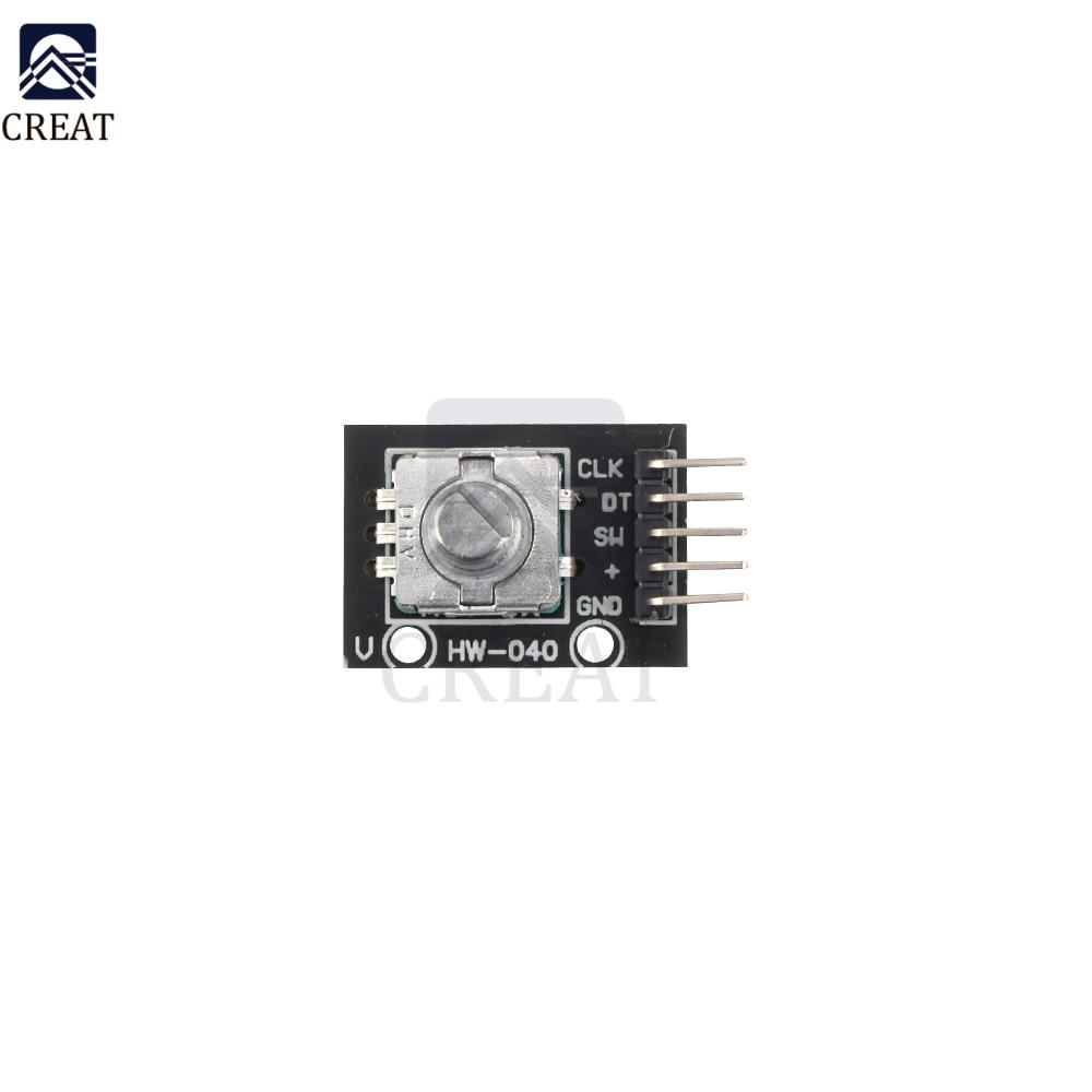 10PCS 360 Degrees Rotary Encoder Compatible Brick Sensor Module For Arduino Module Switch Development Board KY-040