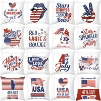 2021 new product independence day sofa pillowcase household goods decorative pillows throw pillow covers cushion cover decor