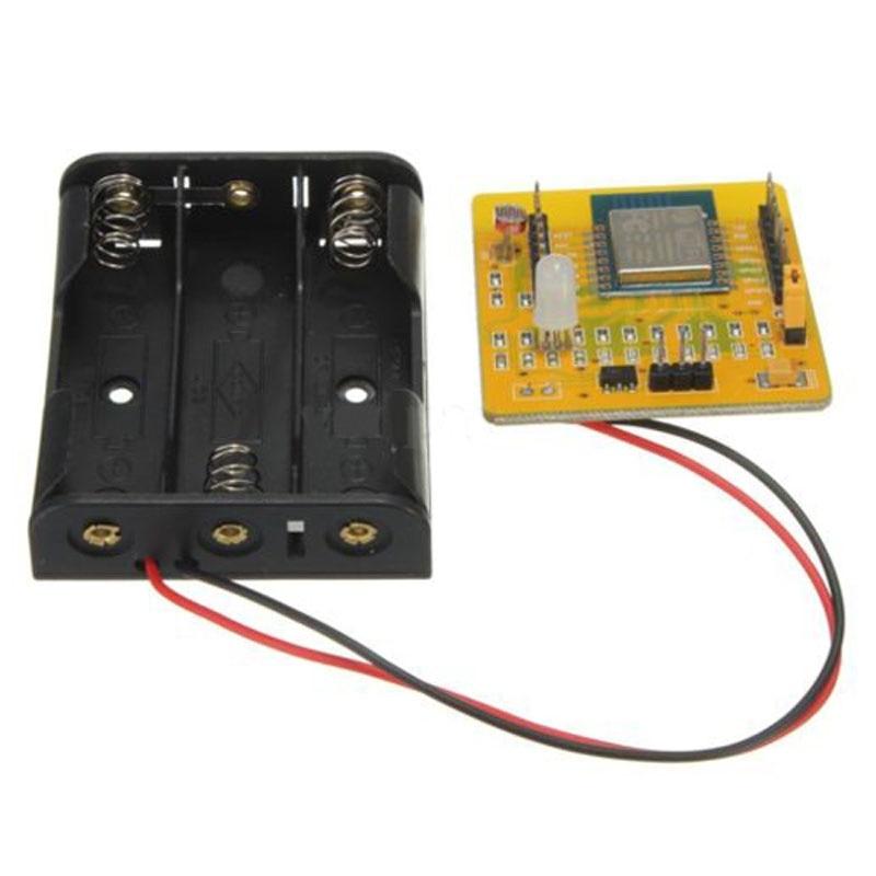 Placa de prueba ABHU-ESP8266 Serial WIFI, Kit de desarrollo de tablero inalámbrico, interruptor IO completo