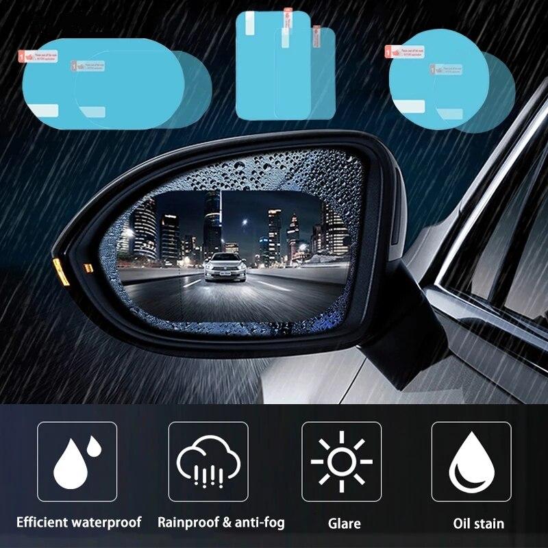 Car Rainproof Film Rearview Mirror Protective Stickers Window Waterproof Anti Rain Fog FilmCar Exterior Accessories