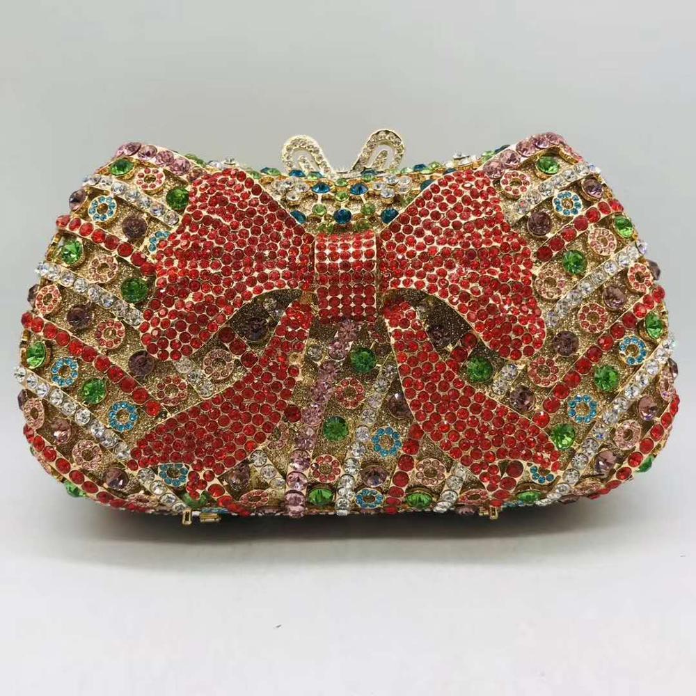 اليدوية الزفاف حفلة موسيقية الماس الصغيرة مساء حقيبة براثن حقائب النساء مساء حقيبة صغيرة فاخرة ماسك من الكريستال الإناث مساء حقيبة