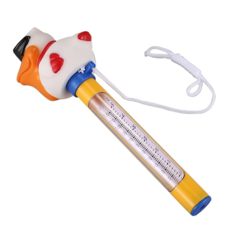 Мультяшный термометр для бассейна, плавающий термометр для плавательного бассейна, открытый, для ванной, воды, гидромассажная Ванна, спа-джакузи, термометр для пруда