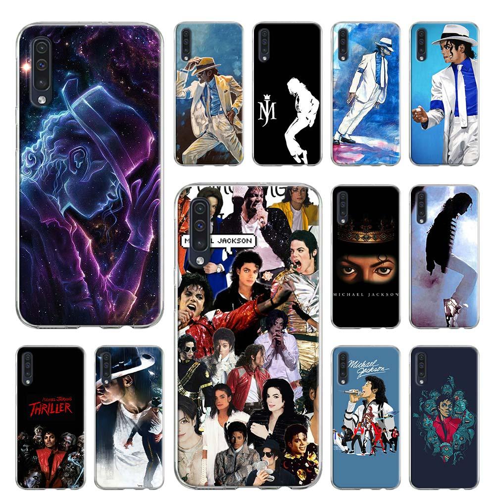 Caso suave para Samsung Galaxy A51 A71 A50 A70 A10 A20 A30 A40 A11 A21 A31 A41 5G 2020 Coque cubierta Michael Jackson rey bailarín