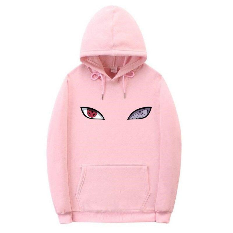 Nieuwe Aankomst Harajuku Anime Hoodies Uchiha Uzumaki Hatake Ogen Afdrukken Sweatshirt Hip Hop Streetwear Hoodies en sweaters    -