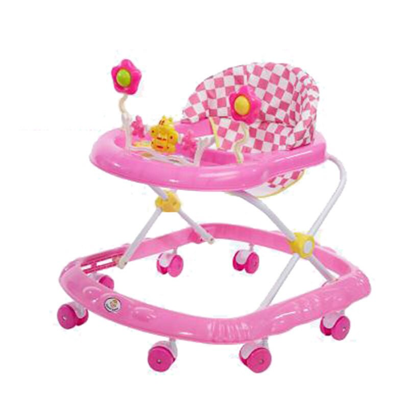 wholesale baby walker with 8 wheels anti runover multi function skating car with music toys learning walkers walking assistant 2020 Baby Walker Anti-rollover Multi-function Foldable with  Baby Walker Boy Girl Baby Walker Walker  Kids Walker  Baby Walkers