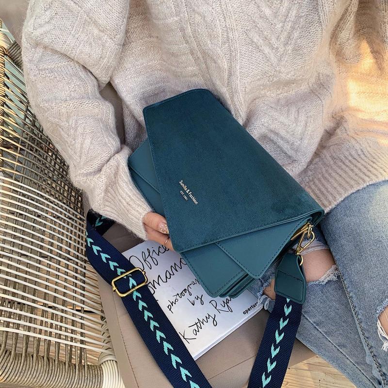 Brand Originality Design Handheld Frosted  bag women 2021 new version of Joker shoulder slung fashion broadband small square bag