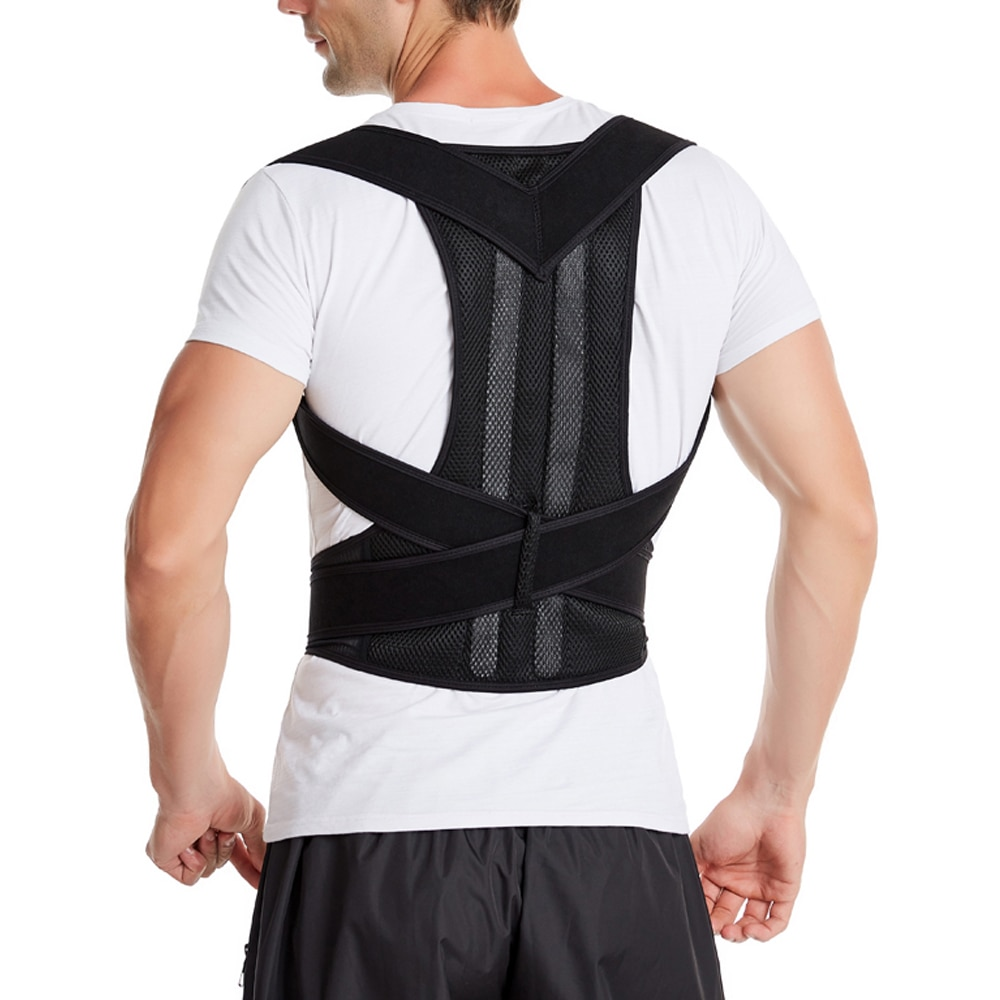 Корректор осанки, бандаж для поддержки спины, коррекция ключиц, корсеты, регулируемый ремень для предотвращения сутулости и захвата, Прямая поставка