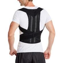 Correcteur de Posture pour hommes et femmes dos Posture orthèse clavicule soutien Correction Corset dos ceinture réglable livraison directe