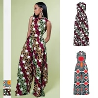 new african clothes for women ethnic robe wax high quality party nigerian clothes fashion jumpsuits