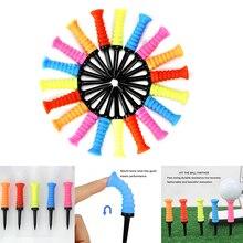 Portable Golfing Holder Random Color Professional Elastic Soft Training Accessories Supplies Profess