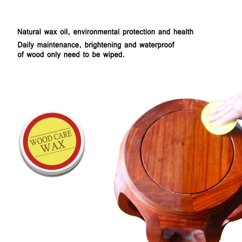 Natural orgânico puro cera tempero de madeira cera de beterraba móveis cuidados limpeza tempero madeira cera de abelha casa limpeza produtos de polimento
