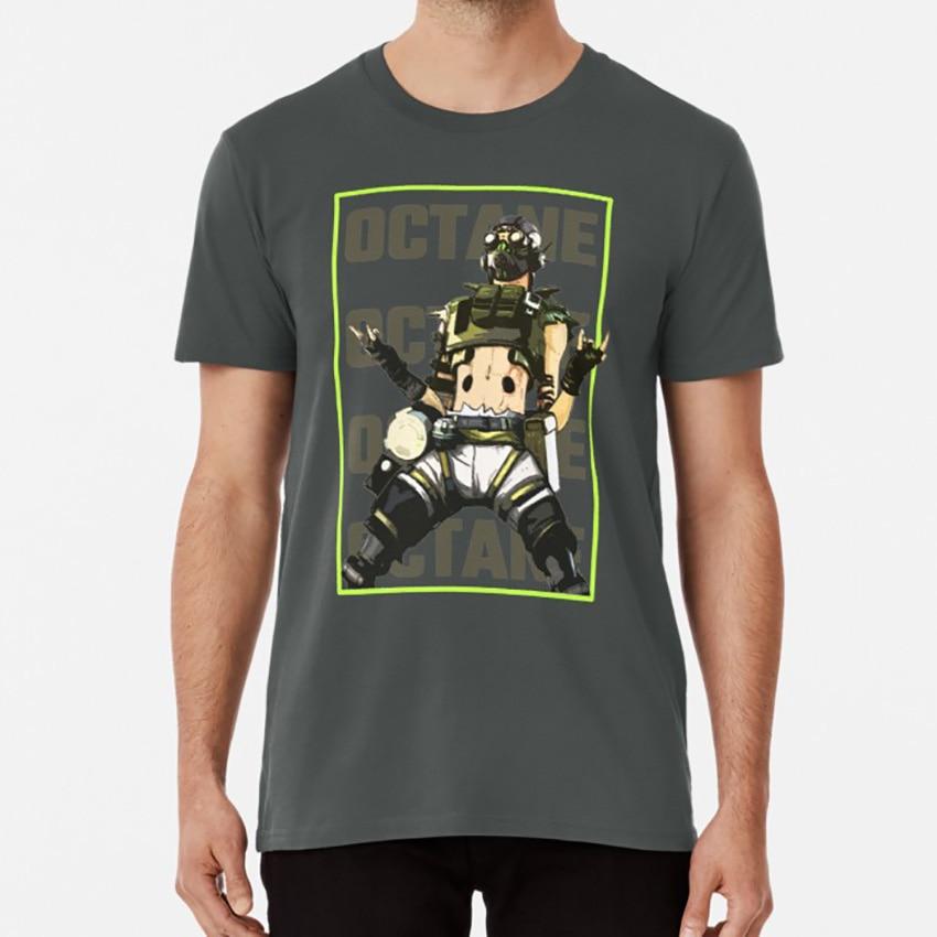 Apex Legends-октановая футболка New Legends apex legends октановые bangalore wraith видеоигры geek hero