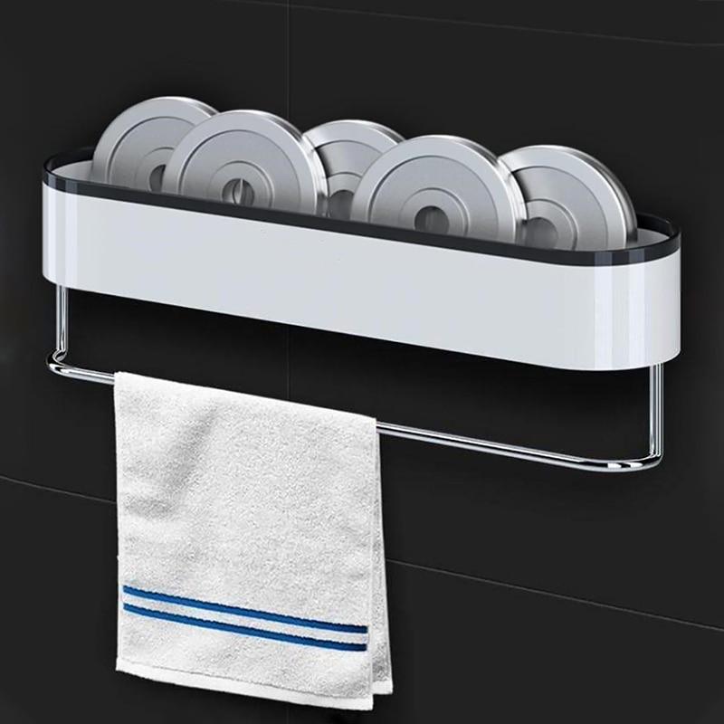 تخزين في الحمام الحائط تخزين رفوف منشفة حمام منظم للمطبخ WC المنزل حديقة الحمام اكسسوارات