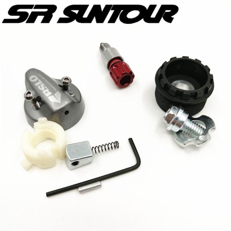 SR Suntour XCR piezas de reparación de la horquilla delantera controlador de alambre Base de Control de ajuste de rebote palanca de tornillo