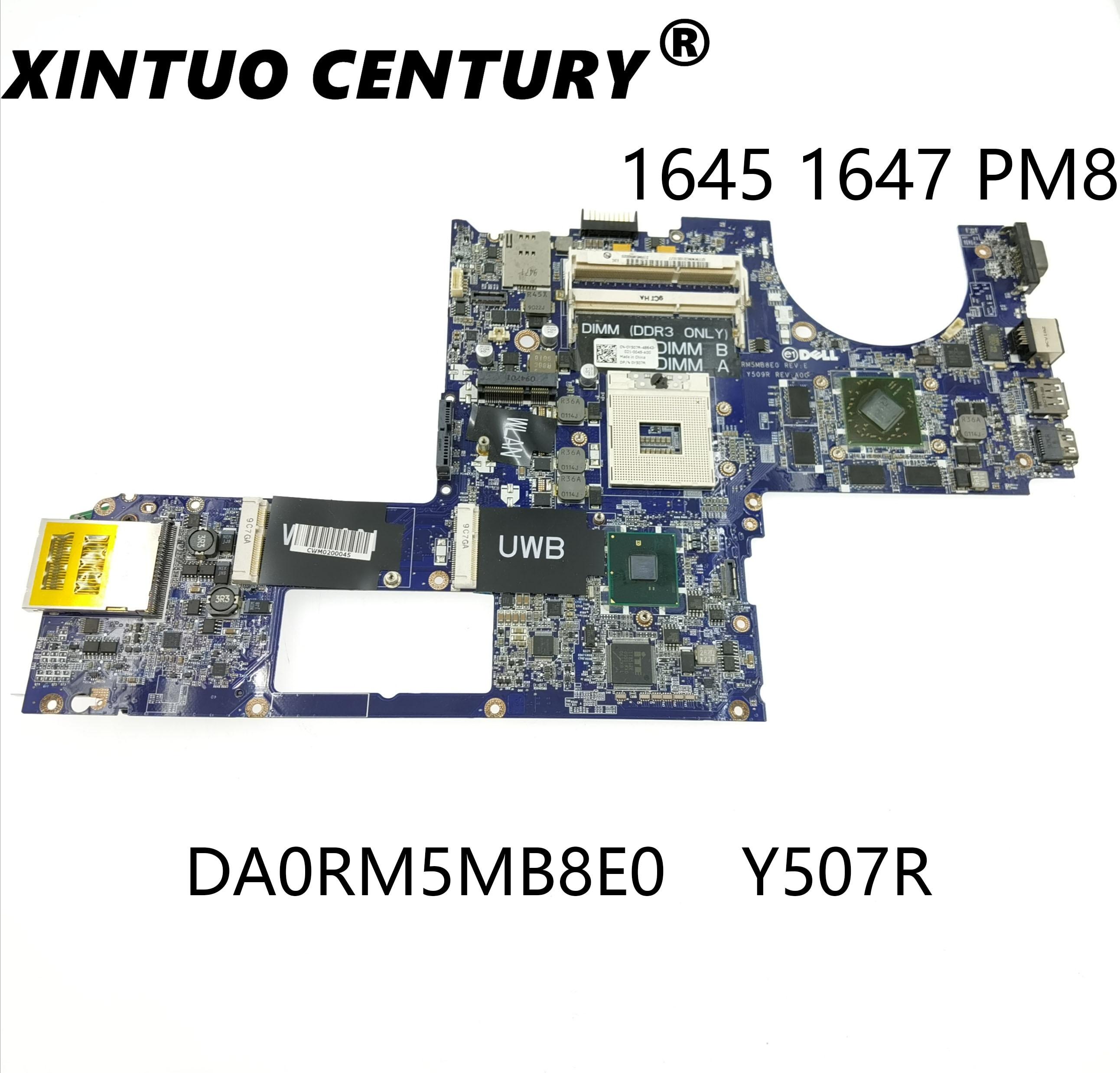 Original FOR Dell Studio 1645 Laptop Motherboard 0Y507R Y507R CN-0Y507R DA0RM5MB8E0 100% TESED OK