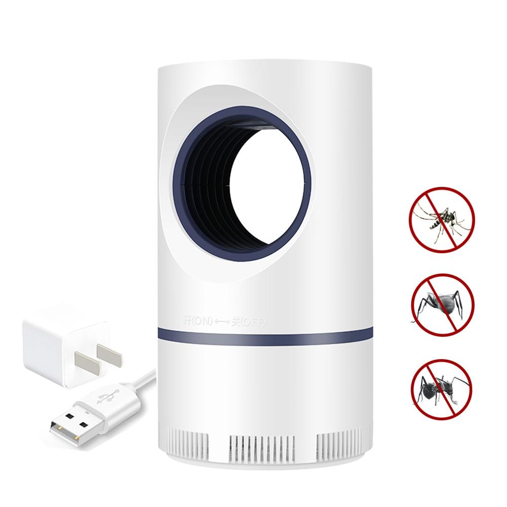 Lámpara antimosquitos Meijuner, alimentada por USB, recargable, LED antimosquitos, lámpara matadora de insectos para el hogar, Patio exterior YardB022