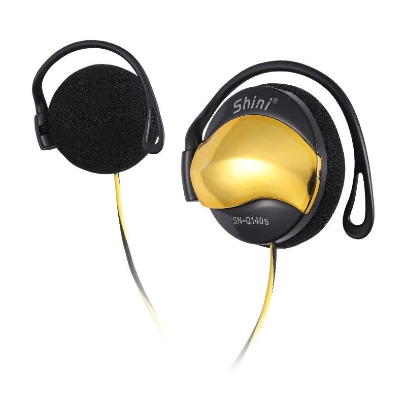 3.5mm filaire casque oreille crochet casques contrôle du Volume écouteur Super basse musique casque avec micro pour lecteur Mp3 Xiaomi Huawei