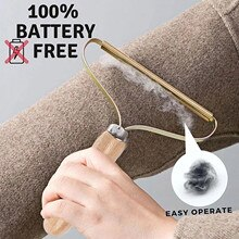 Hair Cleaner Wiper Portable Lint Remover Clothes Fuzz Shaver Reusable Manual Epilator Clothes Shaver