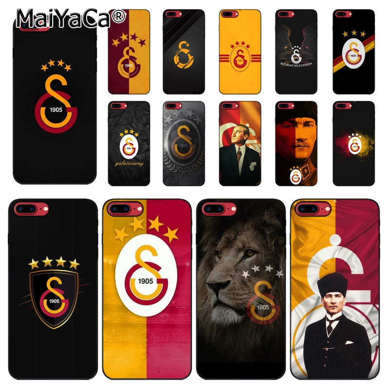 MaiYaCa Turkey Galatasaray Mustafa Kemal Ataturk Phone Accessories Case for iPhone 11 Pro XS MAX XS XR 8 7 6 Plus 5 5S SE