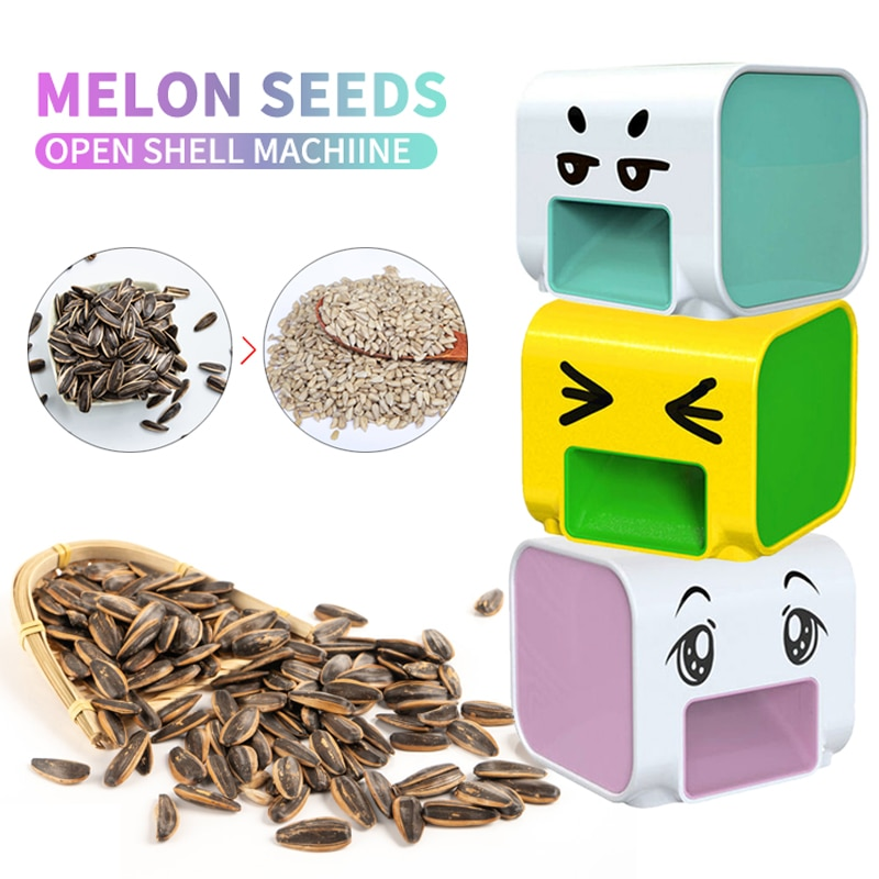 Melon Seed Peeler Automatic Shelling Machine Sunflower Melon Seed Lazy Artifact Opener Household Kitchen Nutcracker Accessories