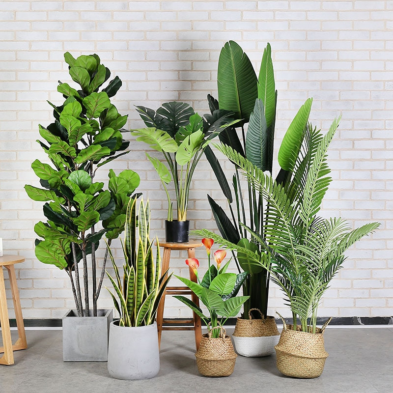 Artificial Plant Tree Bonsai Large Simulation Potted Plants Fake Plants Decoration Suitable for Indoor or Outdoor Decoration