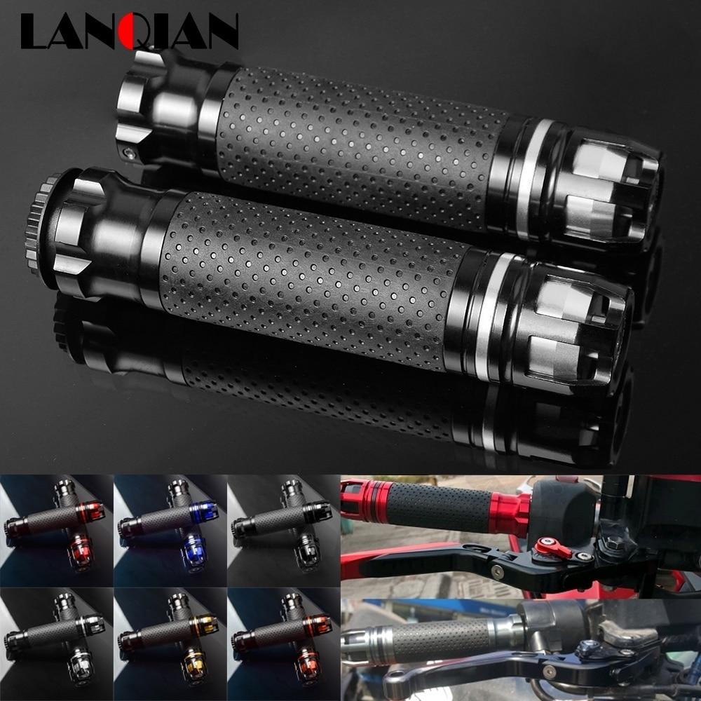 "7/8"" Motorcycle Handle Grip Handle Bar Grips For SYM GTS 300 i Joymax Evo LM30W 4T LC Gilera Nexus 300 125 250 IE E3 Accessories"