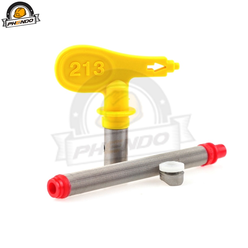 PHENDO TradeTip 3 Spray Tip for Airless guns Precision Spray Nozzle 109 111 113 209 211 213 215  Airless Nozzle Holder Tip