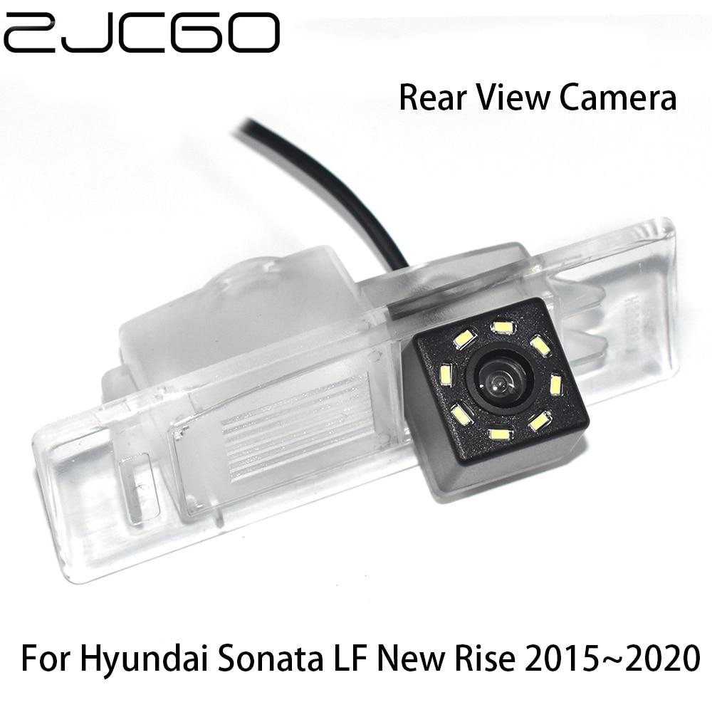 ZJCGO CCD HD Car Rear View Reverse Back Up Parking Night Vision Waterproof Camera For Hyundai Sonata LF New Rise 2015~2020