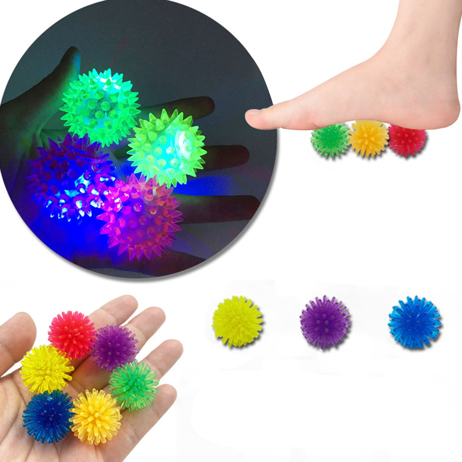 Fidget Toys Set Marble Ball For Autism Anxiety Stress Relief Squeeze Toys Pop Bubble For Kids Adults Decompression Suit enlarge