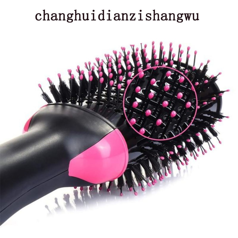 1000W Hair Dryer Hot Air Brush Styler and Volumizer Hair Straightener Curler Comb Roller Electric Ion Blow Dryer Brush enlarge